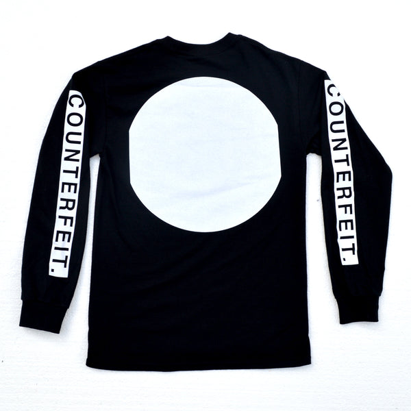 Together We Are Stronger Long Sleeve Black Tee