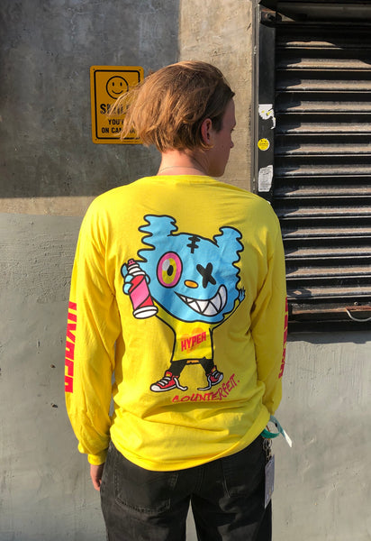 HYPER Yellow Long Sleeve