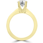 14k Yellow Gold 2 1/4ct. TDW Diamond Bridal Set