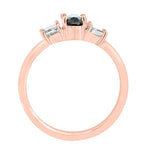 18K Rose Gold Alexandrite 0.70cts and Diamond 0.55cts (SI1-VS G,H) Ring by La Vita Vital