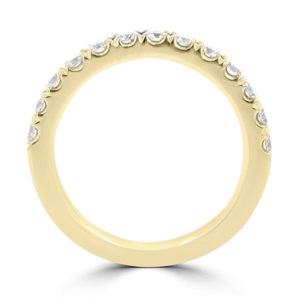 14K Yellow Gold Diamond 1.25ct TDW Wedding Band