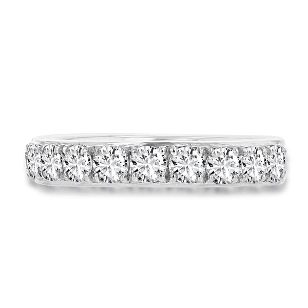 14K White Gold Diamond 1.25ct TDW Wedding Band