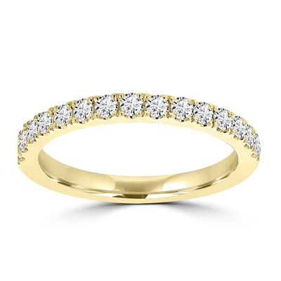 14K Yellow Gold Diamond 0.55ct TDW Wedding Band