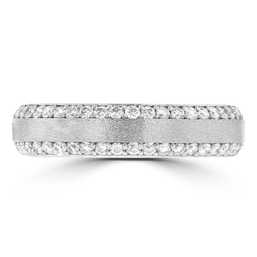 .60ct TDW 14 Karat White Gold Diamond Ring