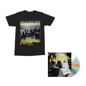 Audience CD + Digital Album + T-Shirt