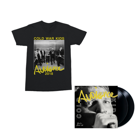 Audience 2LP Vinyl + Digital Album + T-Shirt
