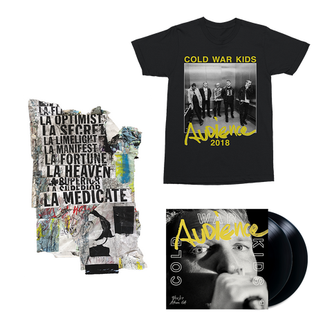 Audience 2LP Vinyl + Digital Album + T-Shirt + Signed Art Piece