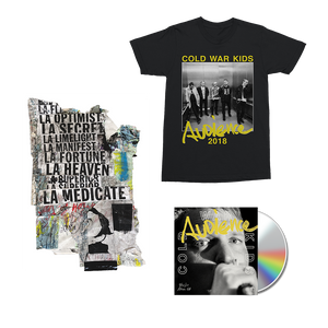 Audience CD + Digital Album + T-Shirt + Signed Art Piece