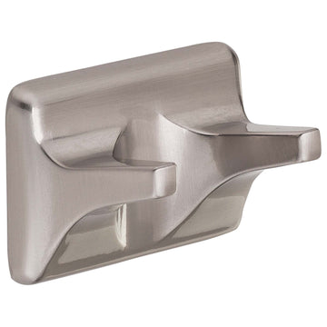Image Of Robe Hook / Towel Hook -  Sea Breeze Bathroom Hardware Set  - Satin Nickel Finish - Harney Hardware