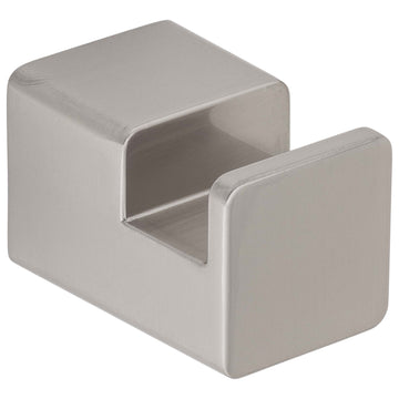 Image Of Robe Hook / Towel Hook -  Westshore Bathroom Hardware Set - Satin Nickel Finish - Harney Hardware