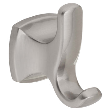 Image Of Robe Hook / Towel Hook -  Wynwood Bathroom Hardware Set - Satin Nickel Finish - Harney Hardware