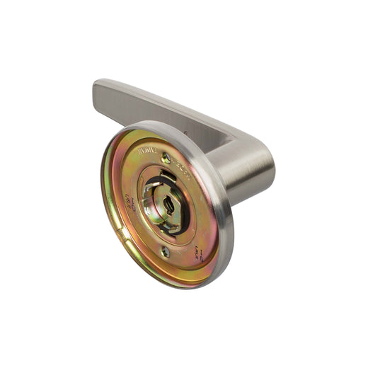 Image Of Electra Inactive / Dummy Door Lever - Satin Nickel Finish - Harney Hardware