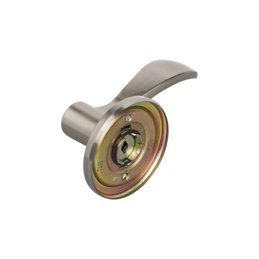 Image Of Dakota Inactive / Dummy Left Door Lever - Satin Nickel Finish - Harney Hardware