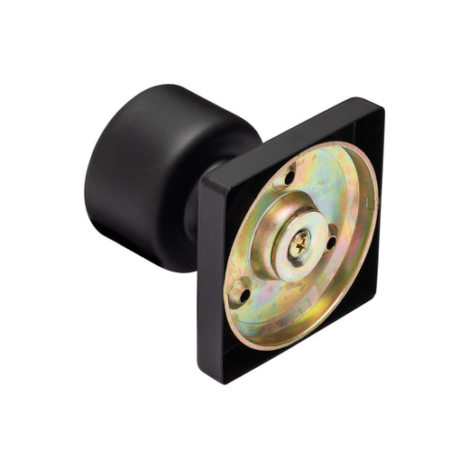Image Of Oaklyn Inactive / Dummy Contemporary Door Knob - Matte Black Finish - Harney Hardware