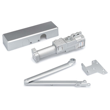 Image Of Commercial Door Closer -  UL Fire Rated -  ANSI 1 -  ADA Compliant -  SP 1-6 - Aluminum Finish - Harney Hardware