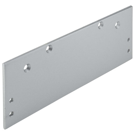 Image Of Door Closer Installation Drop Plate For 8900 Series Closers - Aluminum Finish - Harney Hardware