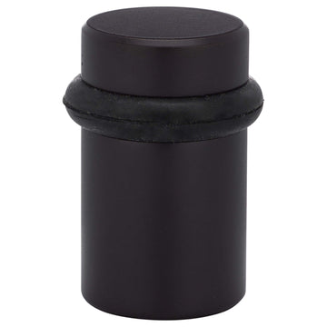 Image Of Universal Floor Stop -  Solid Brass -  2 In. High - Oil Rubbed Bronze Finish - Harney Hardware