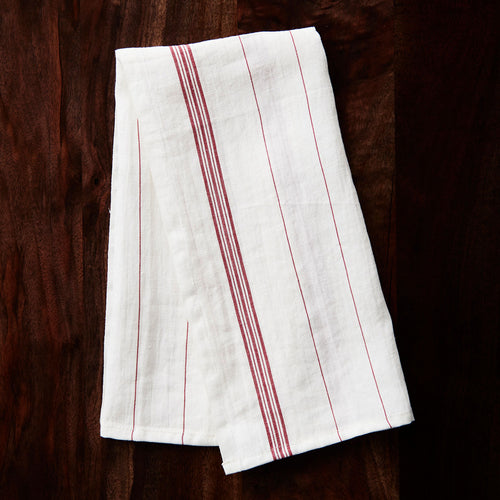 Charvet Editions Washed Tea Towel - Essuie - Verre