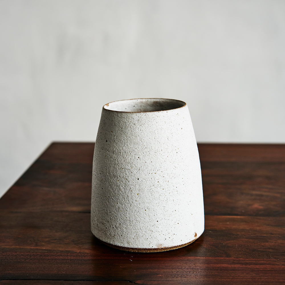 Luna Vase Large Chalk