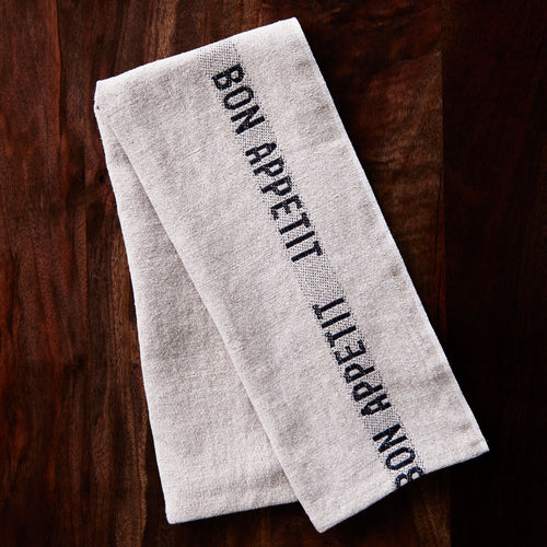Charvet Editions Bon Appetit Tea Towel