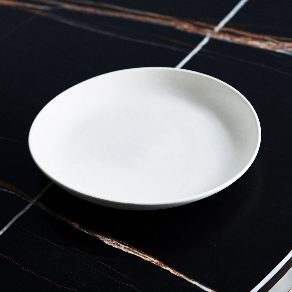 Janaki Shallow White Pasta Bowl