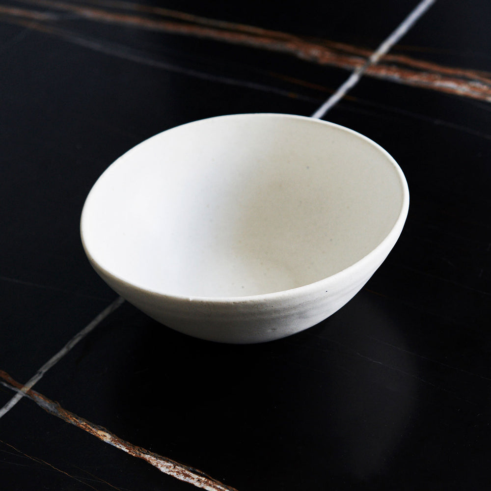 Janaki Larsen Deep White Soup Bowl
