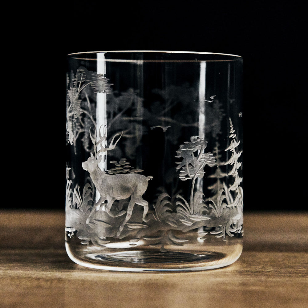 Locchi Woodland Engraved Tumbler Short