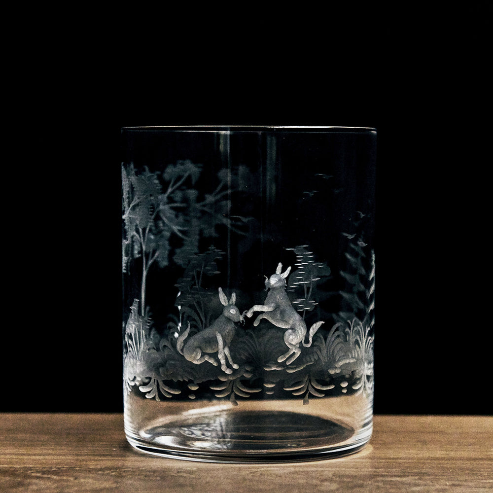 Locchi Woodland Engraved Tumbler Tall