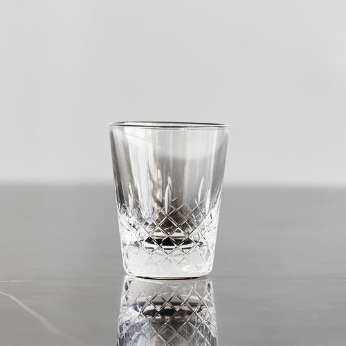 Hiroshima Lace Crystal Shot Glass