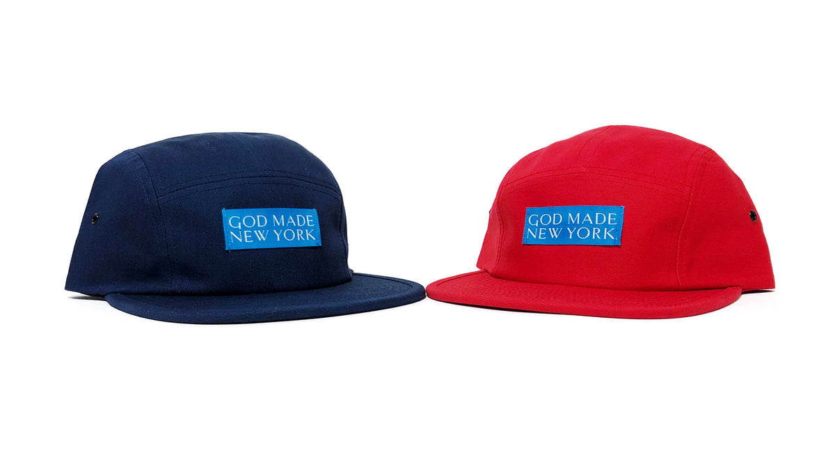 5 Panel Camper Hat – GOD MADE NEW YORK 0df61ceeafb