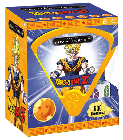 USAopoly Trivial Pursuit Dragon Ball Z Quick Play Trivia Game | Based on The Popular Dragon Ball Z Anime Series | 600 Questions from Dragon Ball Z