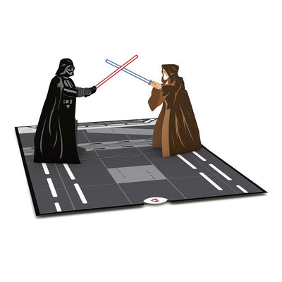 Obi-Wan™ vs. Darth Vader™ 3D card