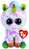 TY Pixy the Unicorn Medium Flippable