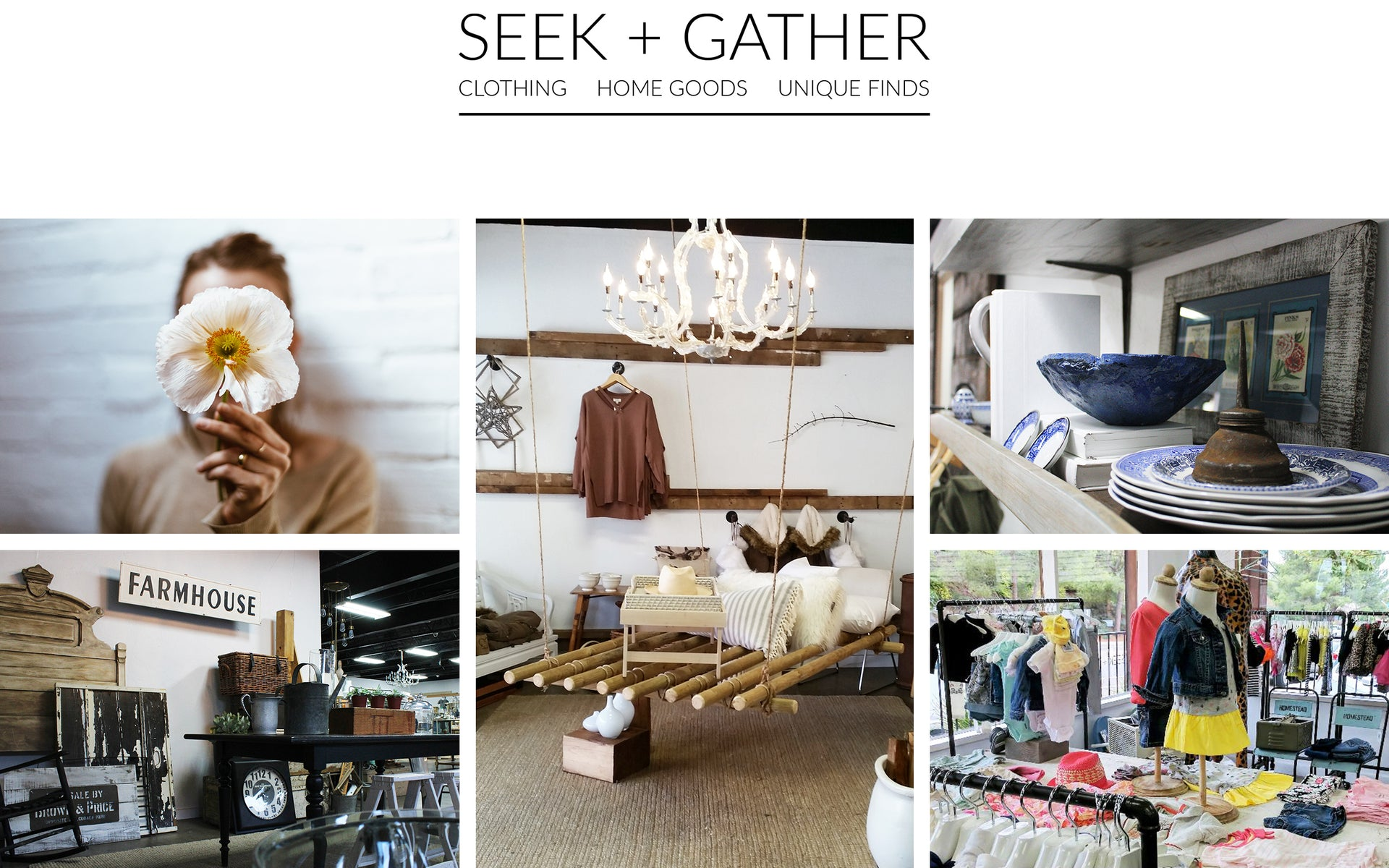SEEK + GATHER