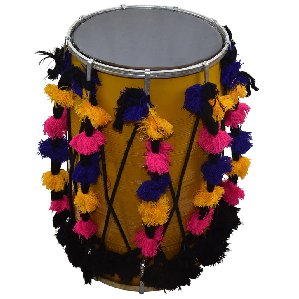 TAAL Bhangra Dhol - Traditional Leather