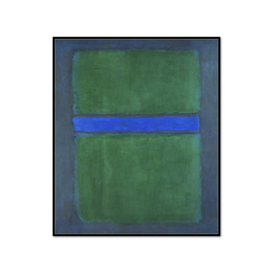 Mark Rothko, Untitled, 1957, Framed Art Print with black frame in 3 sizes by 2020ArtSolutions