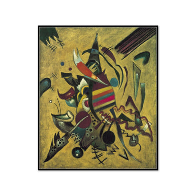 Wassily Kandinsky, Points, 1920, Framed art prints in 3 sizes with black frame by 2020ArtSolutions