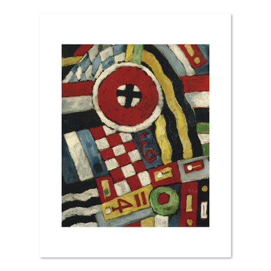 Marsden Hartley / Berlin Abstraction
