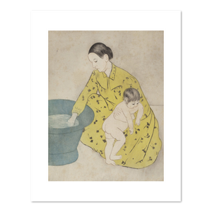 Mary Cassatt, The Bath, 1890-1891, Fine Art Print in various sizes by Museums.Co
