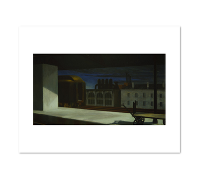 Edward Hopper, Dawn in Pennsylvania, 1942, art prints in various sizes by 2020ArtSolutions