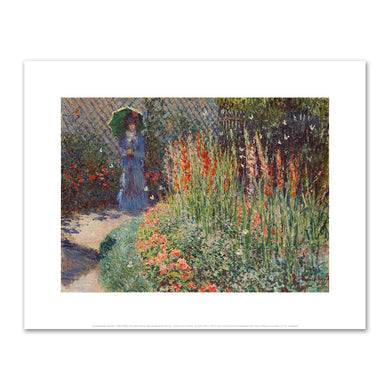 Rounded Flower Bed (Corbeille de fleurs) by Claude Monet