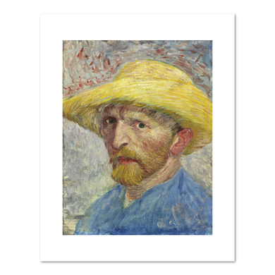 Self-Portrait by Vincent van Gogh Archival Print