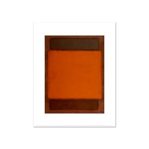 Orange, Brown by Mark Rothko, Art Print in 4 sizes by 2020ArtSolutions