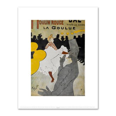 Henri de Toulouse-Lautrec, Moulin Rouge - La Goulue, 1891, 2020ArtSolutions