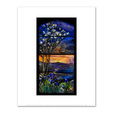 Tiffany Studios, River of Life window, c. 1900-1910, Fine Art Prints in 4 sizes by 2020ArtSolutions