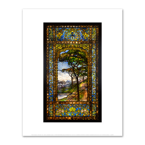 Tiffany Studios, Leaded Glass Window, c. 1895-1902, Fine Art Print in 4 sizes by 2020ArtSolutions