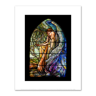 Tiffany Studios, (American, est. 1902), Guiding Angel Window, c. 1917, Art prints in various sizes by 2020ArtSolutions