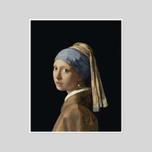 Girl with a Pearl Earring by Johannes Vermeer Artblock