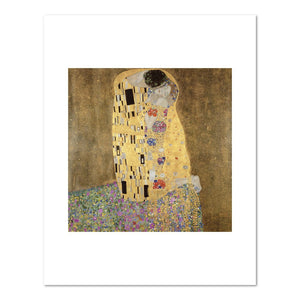 The Kiss by Gustav Klimt Archival Print