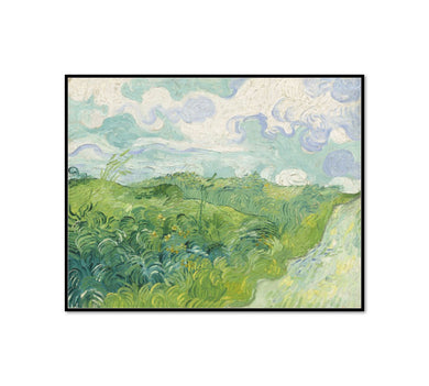 Green Wheat Fields, Auvers by Vincent van Gogh Artblock
